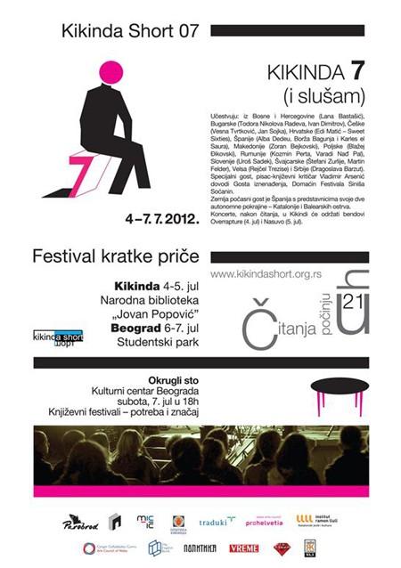 7. međunarodni festival kratke priče Kikinda short