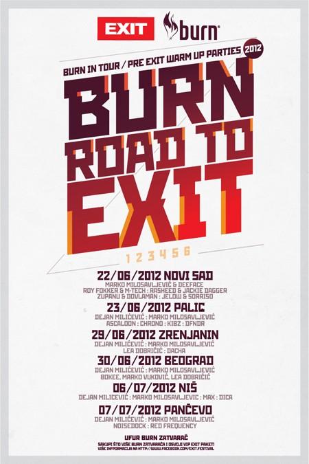 "Večeras kreće ""Burn Road To Exit"" party karavan!"