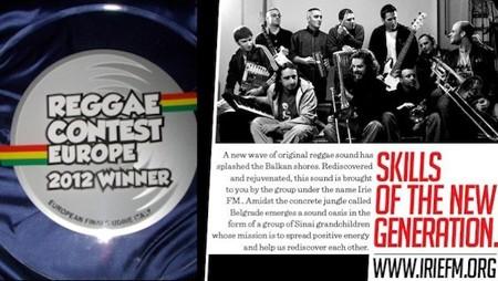 Irie FM - najbolji reggae bend u Evropi