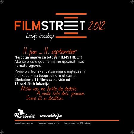 Počinje Filmstreet 2012