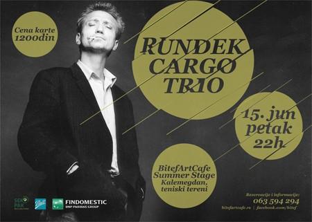 Rundek Cargo trio. BitefArtCafe Summer Stage