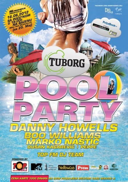 Tuborg Pool Party, Beograd 16.06.2012. god.