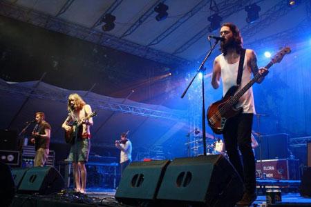Dry the River - INmusic festival 2012