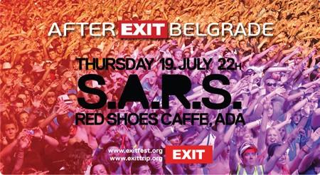 S.A.R.S. na afterEXIT žurci u Red Shoes-u