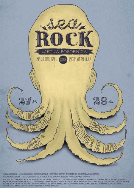 2. SeaRock festival u Kotoru