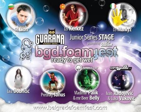 Guarana Foam Fest 2012: Ledena noć u Areni!