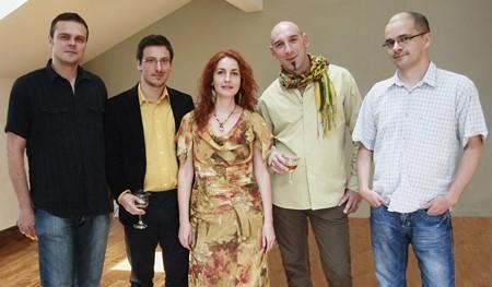 Ana D, Luz Azul & Ognjen, peDJa u klubu Brankow