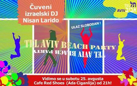 Tel Aviv Beach Party na Adi