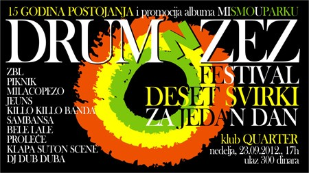 Rođendanski Festival DRUM 'N' ZEZ-a