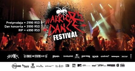 Kompletiran program Warrior's Dance Festivala