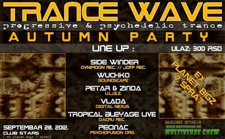 Trance Wave Autumn Party @ BIGZ