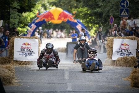 Red Bull Trka Trokolica