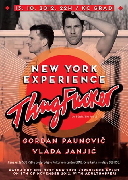 New York Experience - ThugFucker