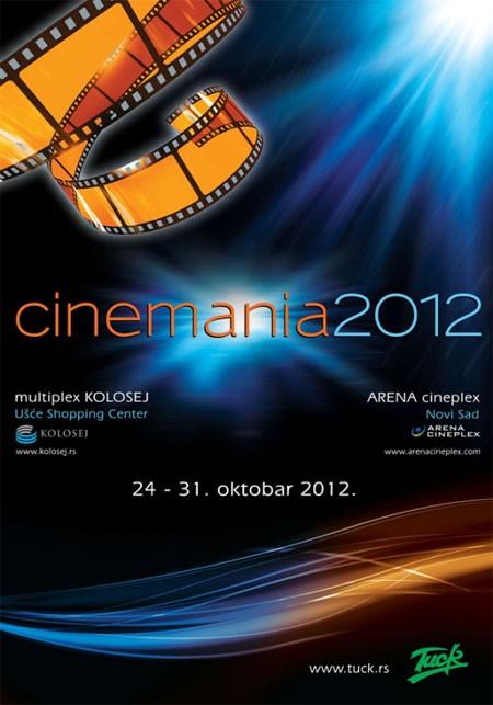 Sutra počinje dvadeseta Cinemania!