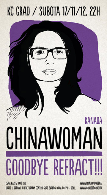 Chinawoman Goodbye REFRACT! KC Grad