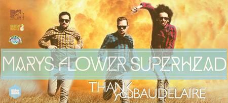 Koncert benda Mary's Flower Superhead u klubu Divljina
