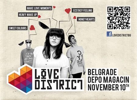 Love District - žurka ljubavi u Beogradu