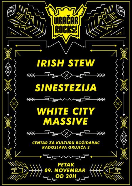 Vračar Rocks! - Irish Stew, Sinestezija & WCM