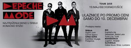 10 000 obožavalaca već spremno za Depeche Mode!