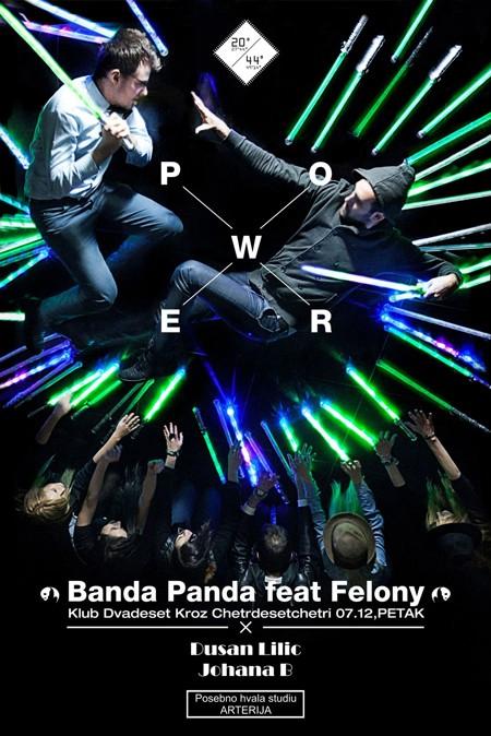 Banda Panda Power u petak na brodu 20/44