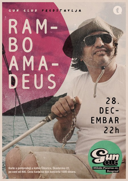 Rambo Amadeus u Gun Clubu 28.12.