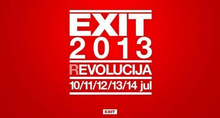 EXIT 2013 biće održan od 10-14. jula