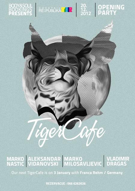 """""""Tiger Cafe"""" žurka u Republika Baru"""