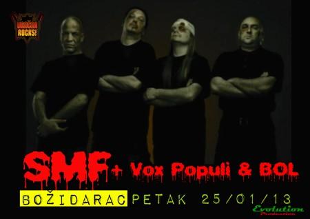 Vračar Rocks! SMF, Vox Populi & BOL