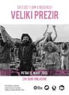 Beogradski koncert Velikog prezira u DOB-u