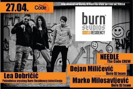 Lea Dobricic u klubu The Code
