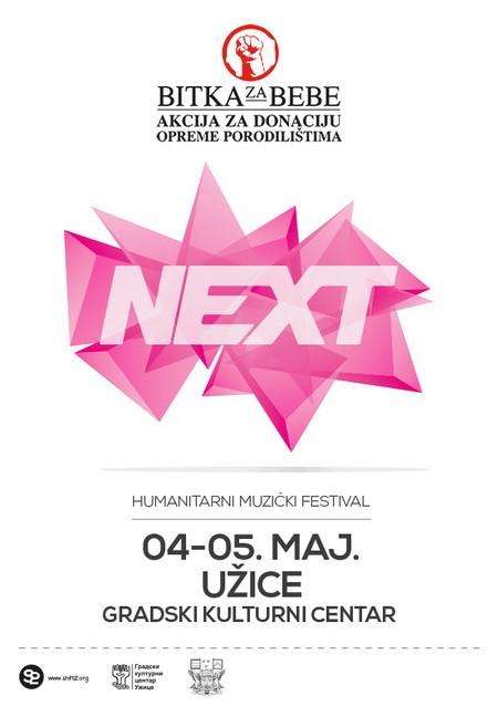 Humanitarni muzički festival u Užicu - NEXT FEST