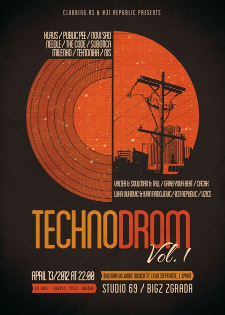 Technodrom Vol.1 @ Studio 69 / Bigz