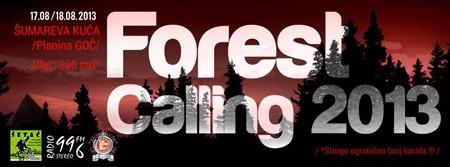 KAMPANJA: Forest Calling 2013: DJ kamp