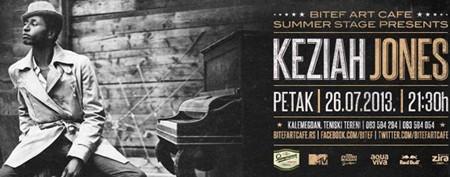 "Keziah Jones ""Back to Belgrade"" koncert @ Summer Stage"