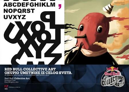Red Bull Collective Art je dobio preko 2000 radova