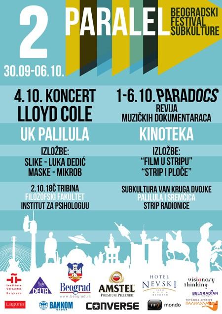 II Paralel Beogradski Festival Subkulture