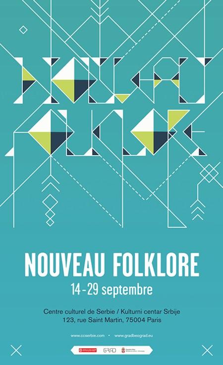 """Izložba """"Novi Folklor"""" u Parizu"""