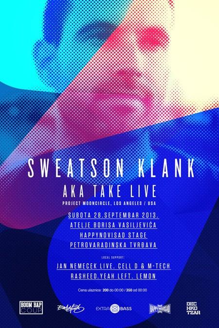 Sweatson Klank zatvara sezonu letnjih žurki u Novom Sadu