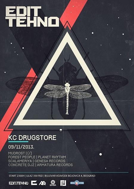 Edit:Techno @ Drugstore