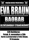 Kreirajte set listu za beogradski koncert grupe Eva Braun
