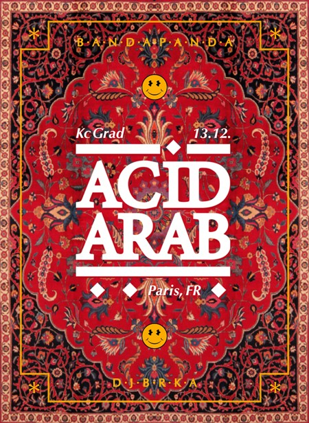 Acid Arab (Fra) u Gradu!