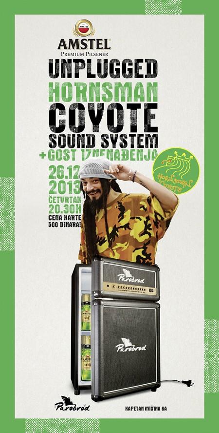 Horsman Coyote & Soundsystem u okviru serijala Amstel Unplugged @ Parobrod