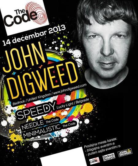 "Progresiv legenda John Digweed u subotičkom klubu ""The Code"""