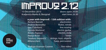 Prvi rođendan 'ImprovE' kolektiva
