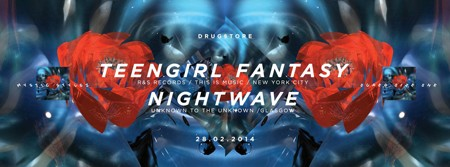 'Live' nastup dua Teengirl Fantasy (USA) & Nightwave (SCO) DJ set
