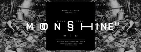Moonshine III: Atonal Rec. Showcase, Drugstore