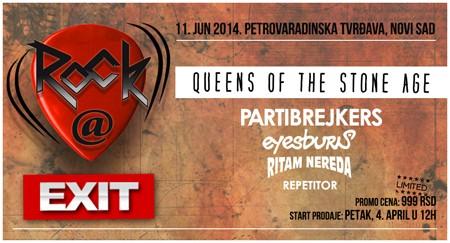Rock@EXIT festival 11. juna na Petrovaradinskoj tvrđavi!