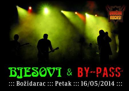 Bjesovi i By-Pass na Vračar Rocks festivalu