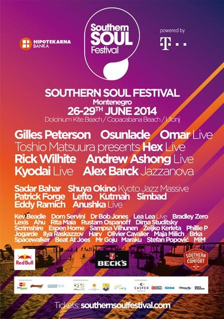 Patrick Forge na promo žurci Southern Soul festivala