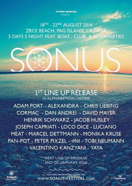 Sonus festival: Počela prodaja ulaznica za EX YU posetioce